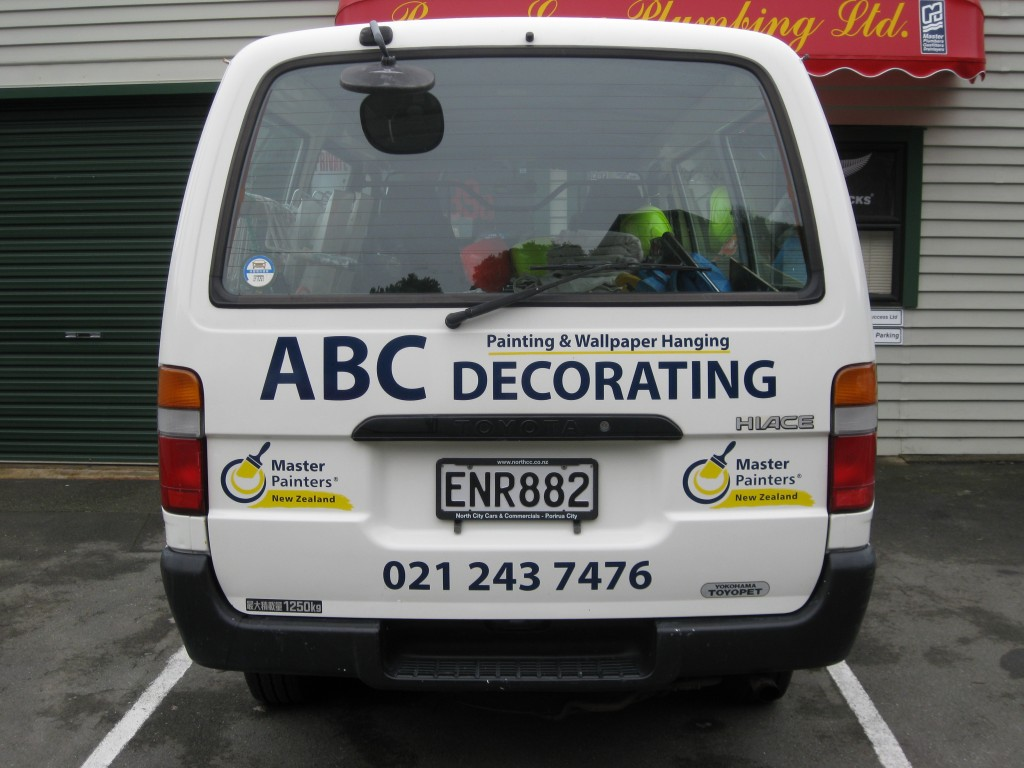 ABC Van rear