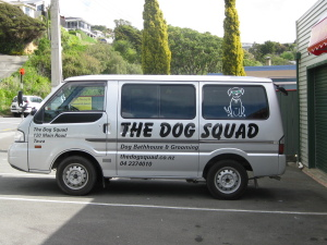 The Dog Squad van