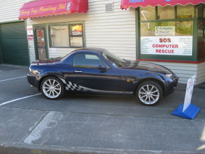 Mazda MX-5 Chequered Stripes