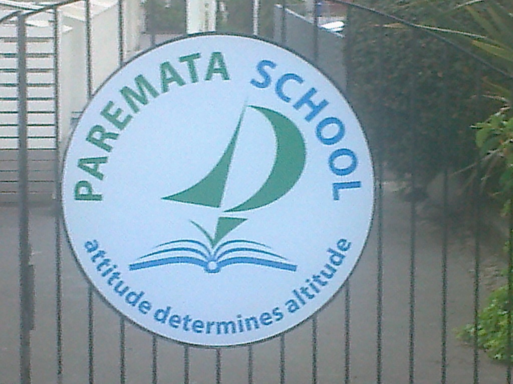 Paremata School gate