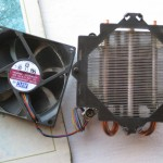 CPU Fan and Heat Sink (After)