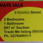 Private Sale signs