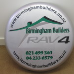 Birmingham Builders RAV4 Spare Wheel Cover