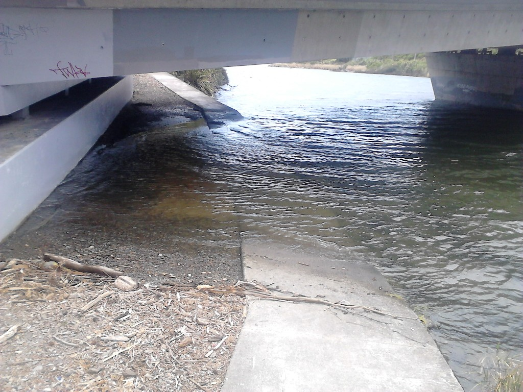 High Tide at the Ramp