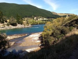The spectacular Clutha River