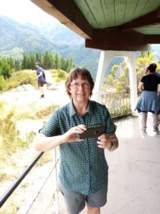 Lynn at Conical Hill Lookout